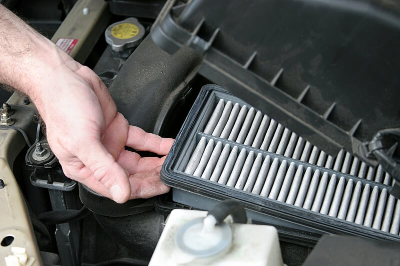 Air Filter Auto Repair Service Plano Texas