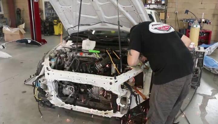 Auto Body Shop Welding Plano Texas