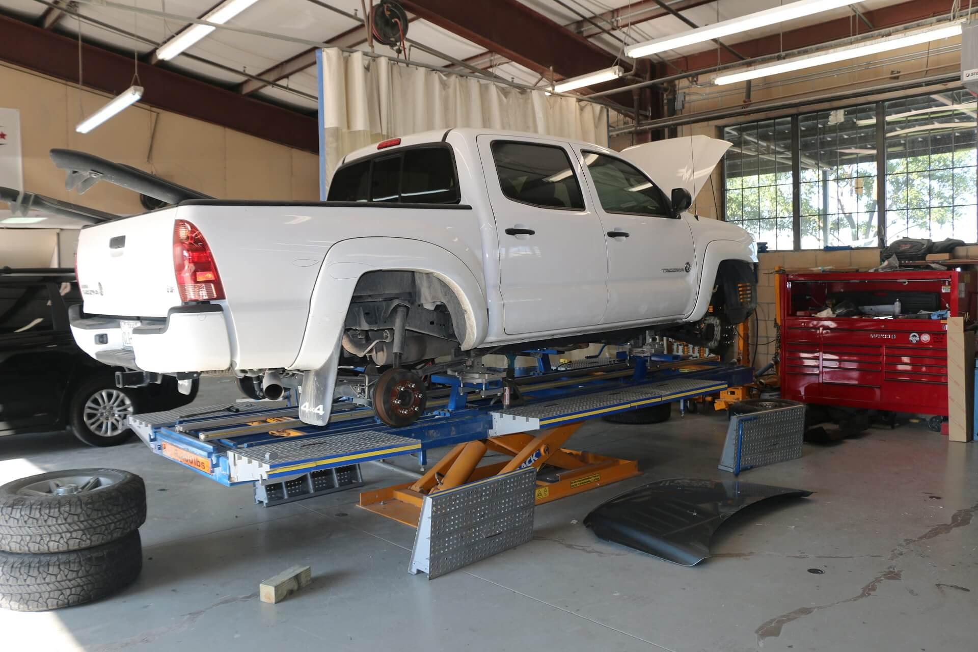 Automotive frame straightening service in plano allen richardson ...