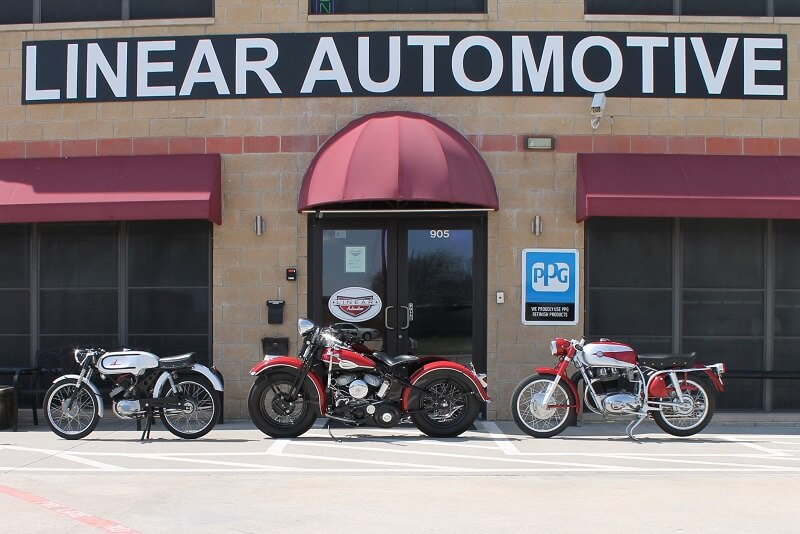 Motorcycle Restoration, Paint & Body Work in Dallas Plano TX