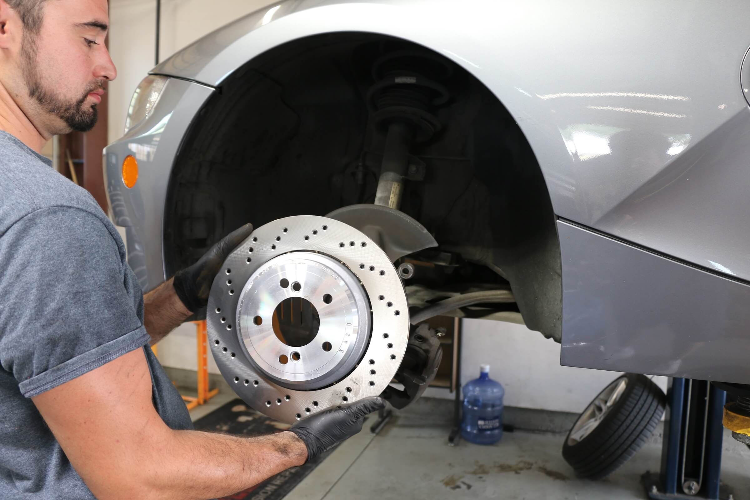 Certified Porsche Brake Repair Service in Plano Texas