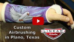 Custom Airbrushing in Plano Dallas Fort Worth Texas Video