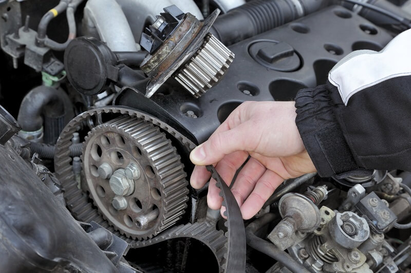 Engine Timing Belt Auto Repair Service in Plano Texas