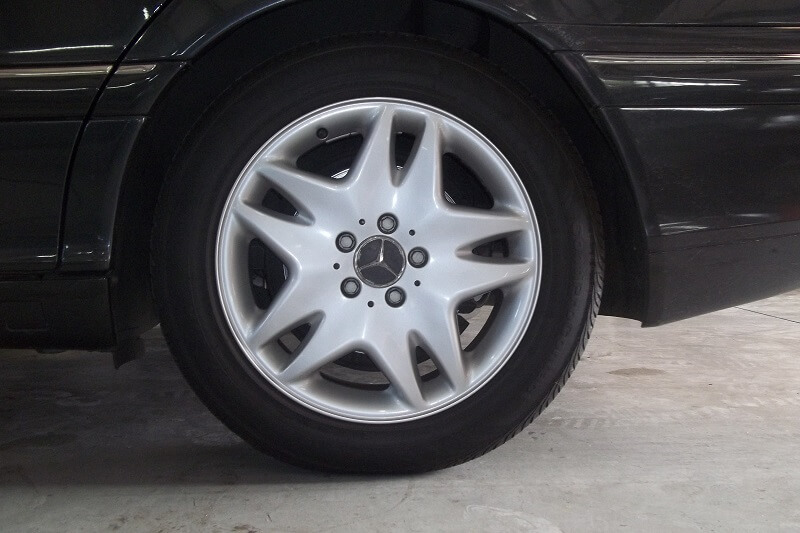 Mercedes-Benz Wheel Repair Plano Richardson Allen McKinney Texas