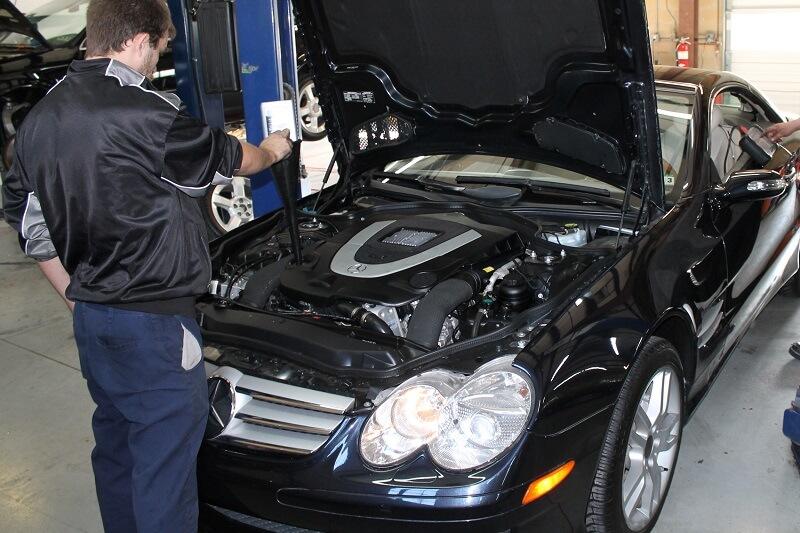 Mercedes TuneUp Service Plano Richardson Allen McKinney Texas