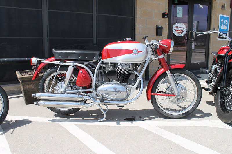 Vintage Benelli Motorcycle 30