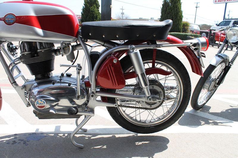Vintage Benelli Rear Shocks Linear Automotive