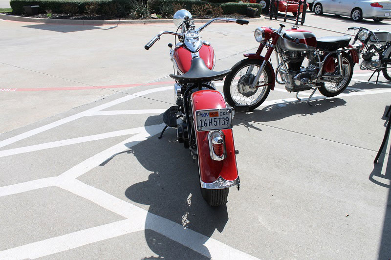 Vintage-Harley-Rear-Tail-Light
